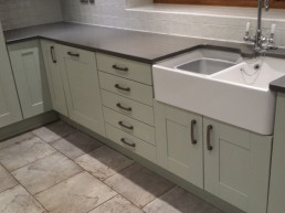 Powder Green Kitchen Respray
