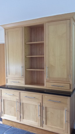 Kitchen Cabinet Pine Before Respray