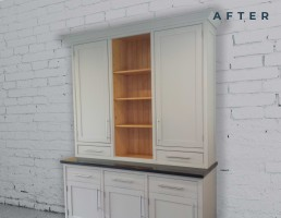 Cabinet Respray After